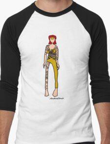 David Bowie Men's Baseball ¾ T-Shirt