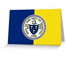 Flag of Trenton Greeting Card