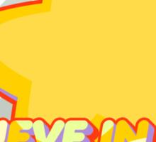 Believe In Steven Sticker