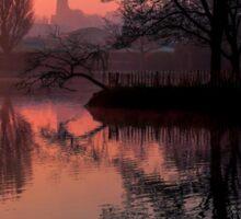 Misty Dawn Sydenham Sticker