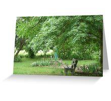Seasons in Print - Country Gardens Greeting Card