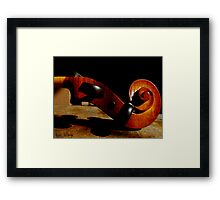 In The Study Framed Print