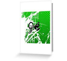 BMX Pop Art Greeting Card