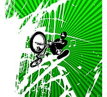 BMX Pop Art Photographic Print