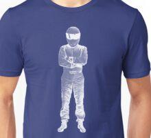 The Stig Pop Art Full Body WHITE Unisex T-Shirt