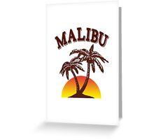 Malibu rum  Greeting Card