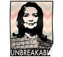 Unbreakable Hillary Poster