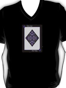 Ace of Diamonds - Grey T-Shirt