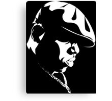 Biggie Smalls Stencil Canvas Print
