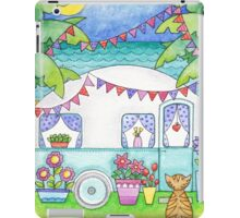 Cat Art Caravan Painting iPad Case/Skin