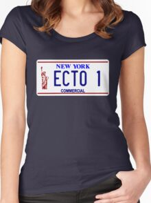 ECTO 1 Women's Fitted Scoop T-Shirt