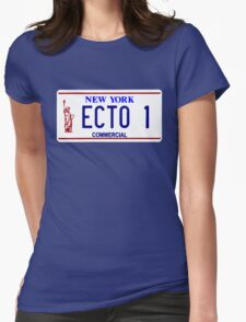 ECTO 1 Womens Fitted T-Shirt