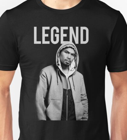 Manny Pacquiao Filipino Legend by AiReal Unisex T-Shirt