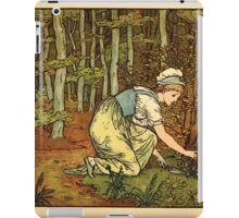 Walter Crane's Painting Book 1889 49 - On The Path Color iPad Case/Skin