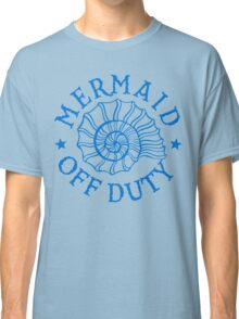 Mermaid Off Duty - blue Classic T-Shirt