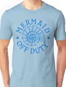 Mermaid Off Duty - blue Unisex T-Shirt