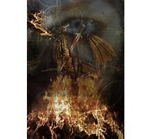 The Dragon Slayed Photographic Print