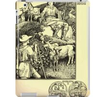 The shepheard's calender twelve aeglogues proportionable to the twelve monethes Newly adorned with twelve pictures and other devices by Walter Crane 1898 81 - July iPad Case/Skin