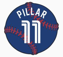 Kevin Pillar Basebal Design by canossagraphics