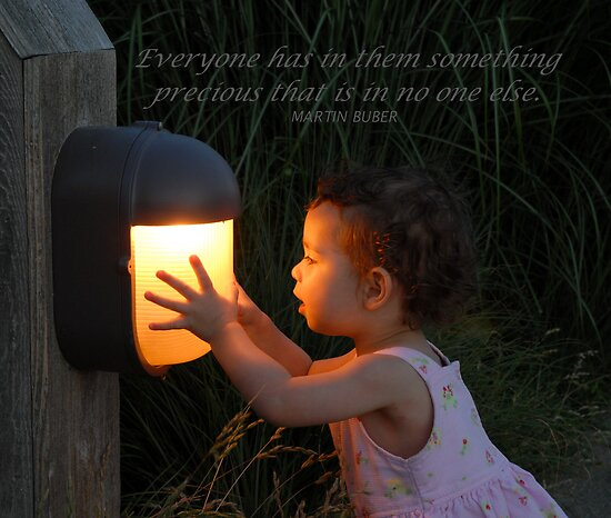 """Everyone has in them something precious..."" by Marjorie Wallace"