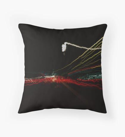 light painting 01 Throw Pillow