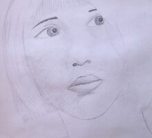 Portrait Study by Sophia Spencer