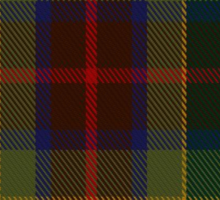 00361 Waterford County District Tartan Sticker
