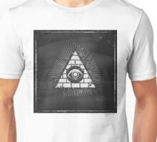 Pyramid with eye Unisex T-Shirt