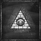 Pyramid with eye by SIR13