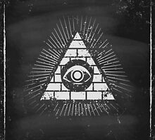 Pyramid with eye by SIR13