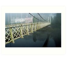 The Shakey Bridge In Colour Art Print