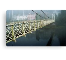 The Shakey Bridge In Colour Canvas Print
