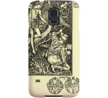 The shepheard's calender twelve aeglogues proportionable to the twelve monethes Newly adorned with twelve pictures and other devices by Walter Crane 1898 47 - March Samsung Galaxy Case/Skin