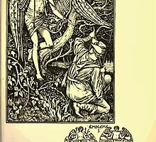 The shepheard's calender twelve aeglogues proportionable to the twelve monethes Newly adorned with twelve pictures and other devices by Walter Crane 1898 47 - March by wetdryvac
