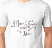 Shakespeare Quote Unisex T-Shirt