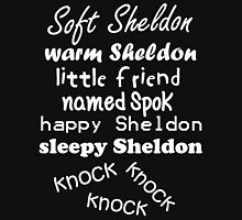 Soft Sheldon, Warm Sheldon (white) Unisex T-Shirt