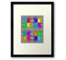 Flappyness Pattern Framed Print