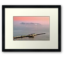 Evening Mist Framed Print