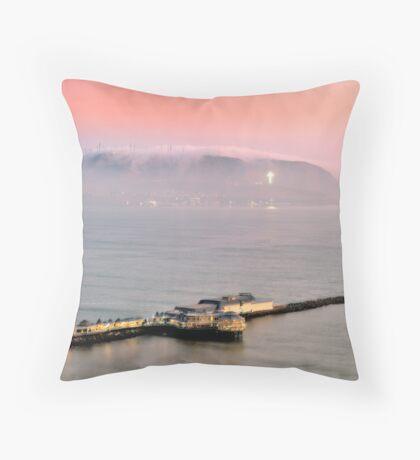 Evening Mist Throw Pillow