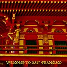 WELCOME TO SAN FRANCISCO (CARD) by Thomas Barker-Detwiler