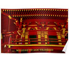 WELCOME TO SAN FRANCISCO (CARD) Poster
