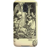 The shepheard's calender twelve aeglogues proportionable to the twelve monethes Newly adorned with twelve pictures and other devices by Walter Crane 1898 111 - October Samsung Galaxy Case/Skin