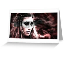 Anya The 100 Greeting Card