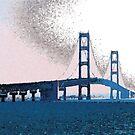 Haze in the Straits by Bob Fox