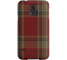 00358 Tyrone County District Tartan  Samsung Galaxy Case/Skin