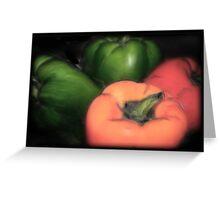 Vegitable - Peppers Greeting Card