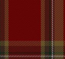 00358 Tyrone County District Tartan  Sticker