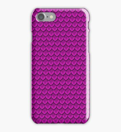 Magically Magenta Mermaid Scale iPhone Case/Skin