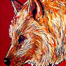 High Country Canine...20 Minute Quick Drawing by Susan Bergstrom