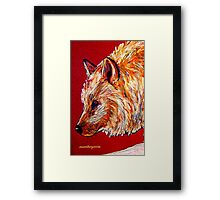 High Country Canine...20 Minute Quick Drawing Framed Print